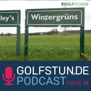 #48 Golf bei Kälte, Regen, Matsch und Wind