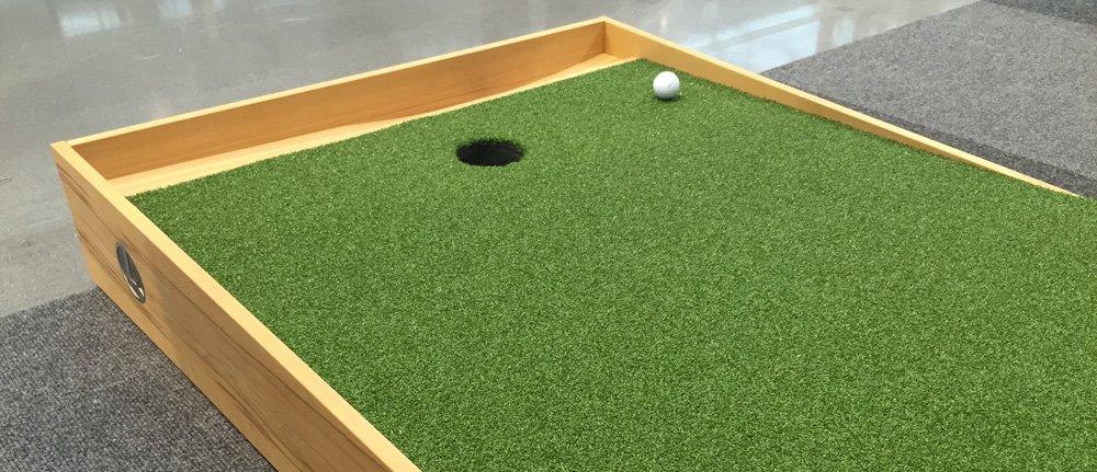 Golfloch & Ballrücklauf