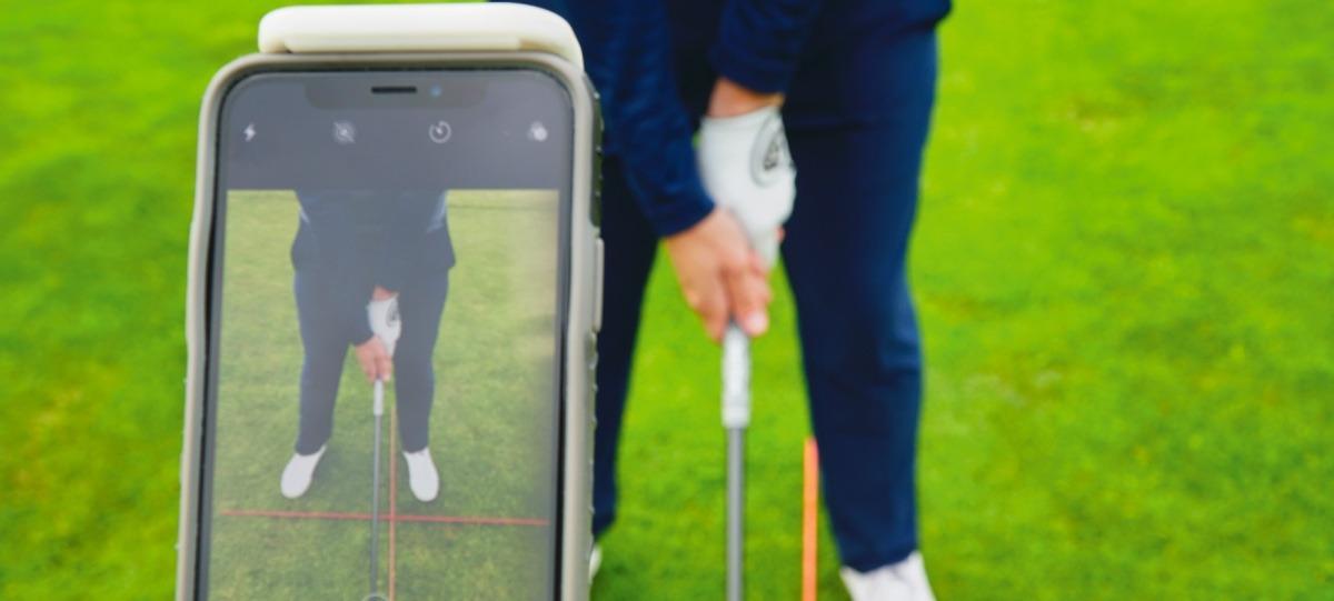 aufnahme griff - Golfschwung aufnehmen, Technik verbessern (App-Tipp)