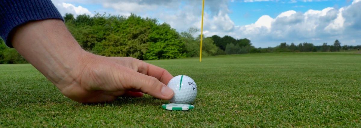 ausrichtung ball - Gerade Putten –Die 4 wichtigsten Technik-Grundlagen