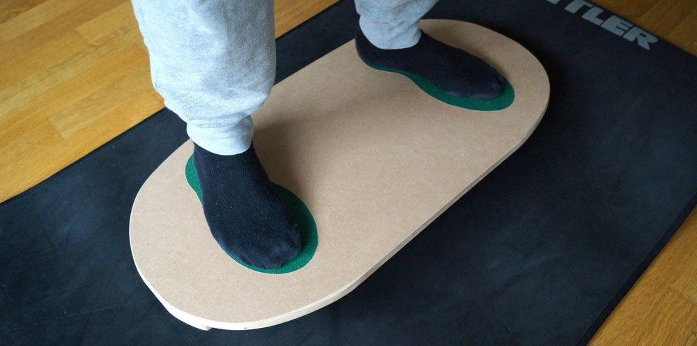 Balance Board Fur Golfer Selber Bauen Anleitung