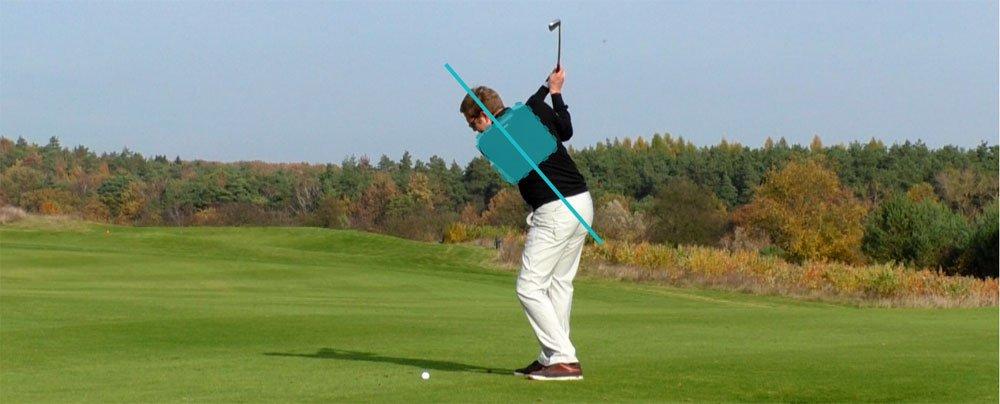 Die Brustwirbelsäule und der Golfschwung