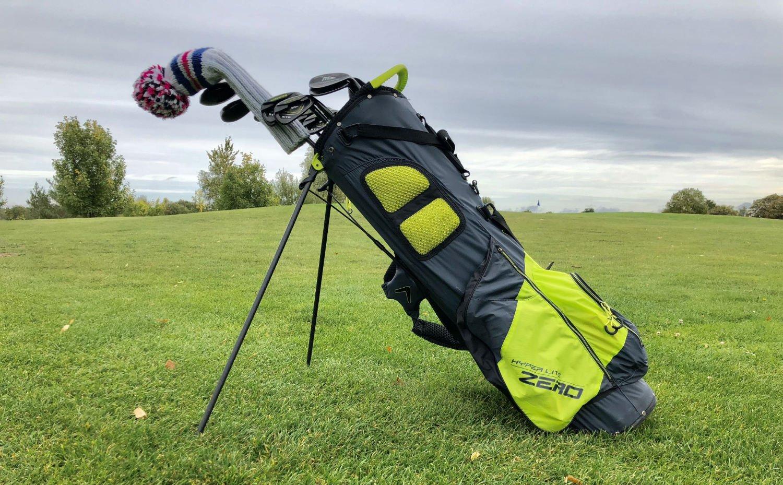 callaway hyper lite zero - Die leichtesten Golfbags mit Stand-Beinen