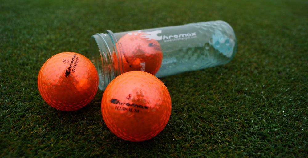 chromax golfbaelle - Bunte Golfbälle für den Winter