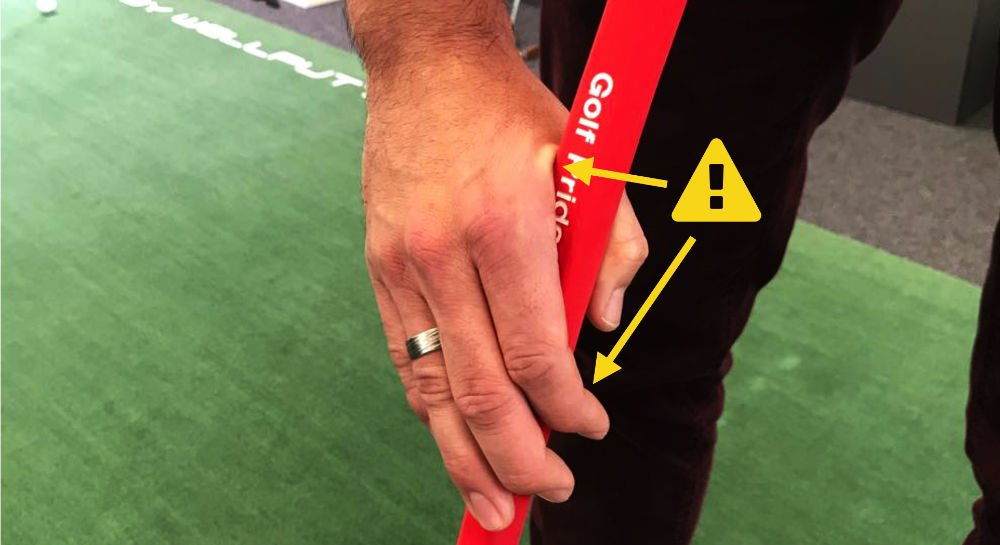 Typischer Fehler beim Claw-Griff