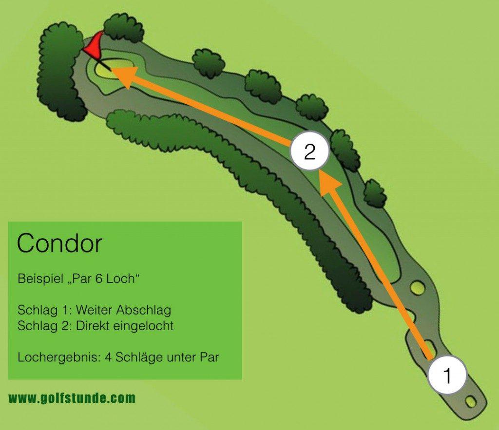 Condor (4 Schläger unter Par)