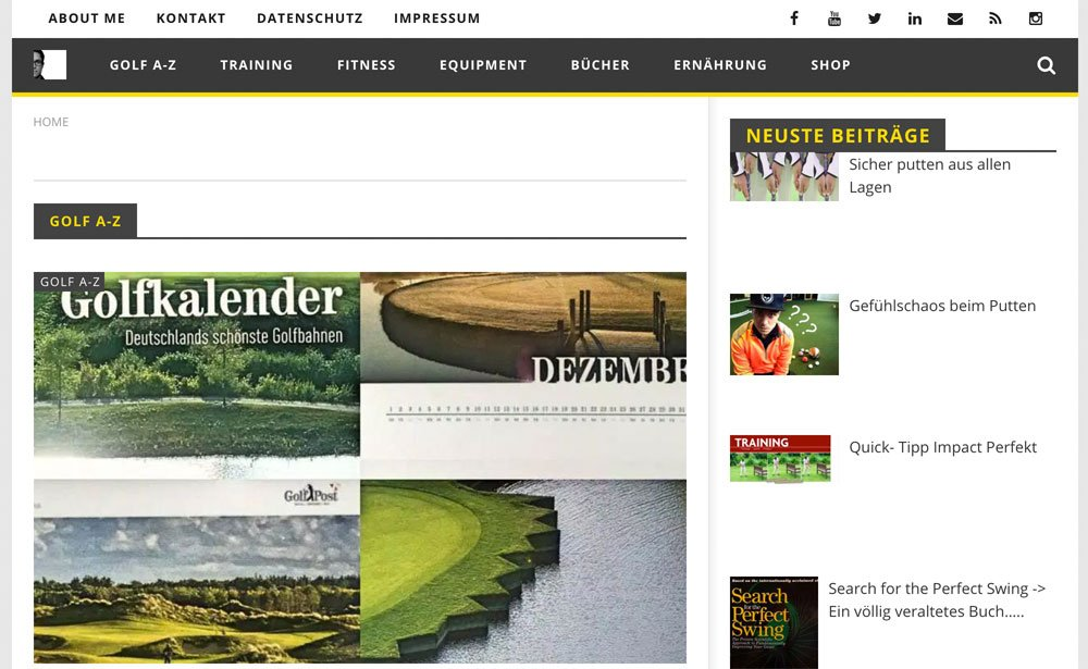 der golf blog - Der Golf Blog von Patrick Emery