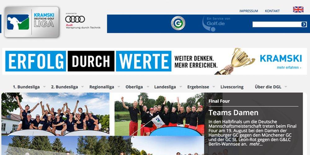 deutsche golf liga - Die 10 größten deutschen Golf-Webseiten 2017