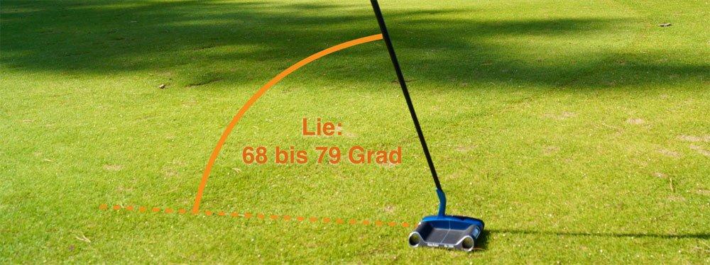 Der Lie lässt sich zwischen 68 bis 79 Grad einstellen