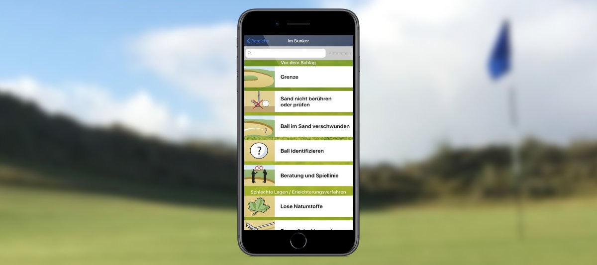 expergolf golfrules - Golf auf dem Smartphone – Die 12 besten Apps für Golfer