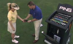 Golfschläger-Fitting (Quelle: ping.com)