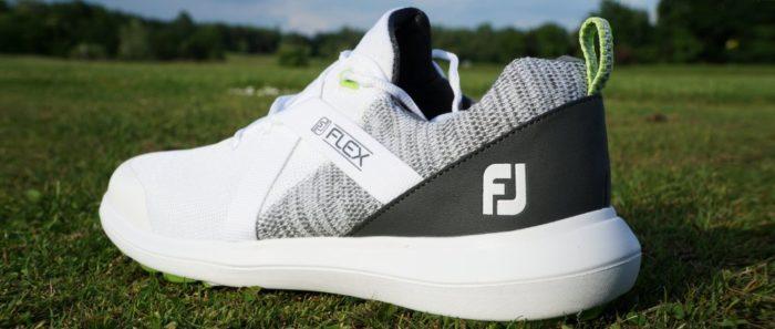fj flex hinten 700x297 - Die schönsten Herren-Golfschuhe im Sneaker-Style