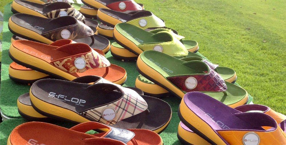 g flop farben - G-FLOP - Golfen in Flipflops