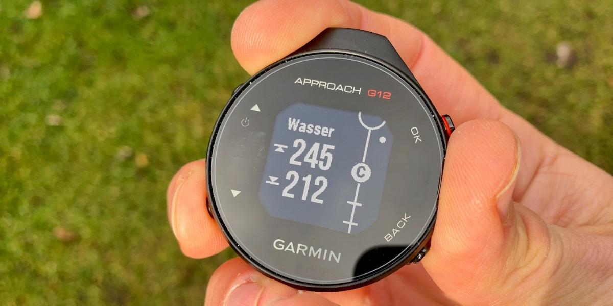 g12 hindernisse - Approach G12 – Das neue Golf-GPS von Garmin im Test
