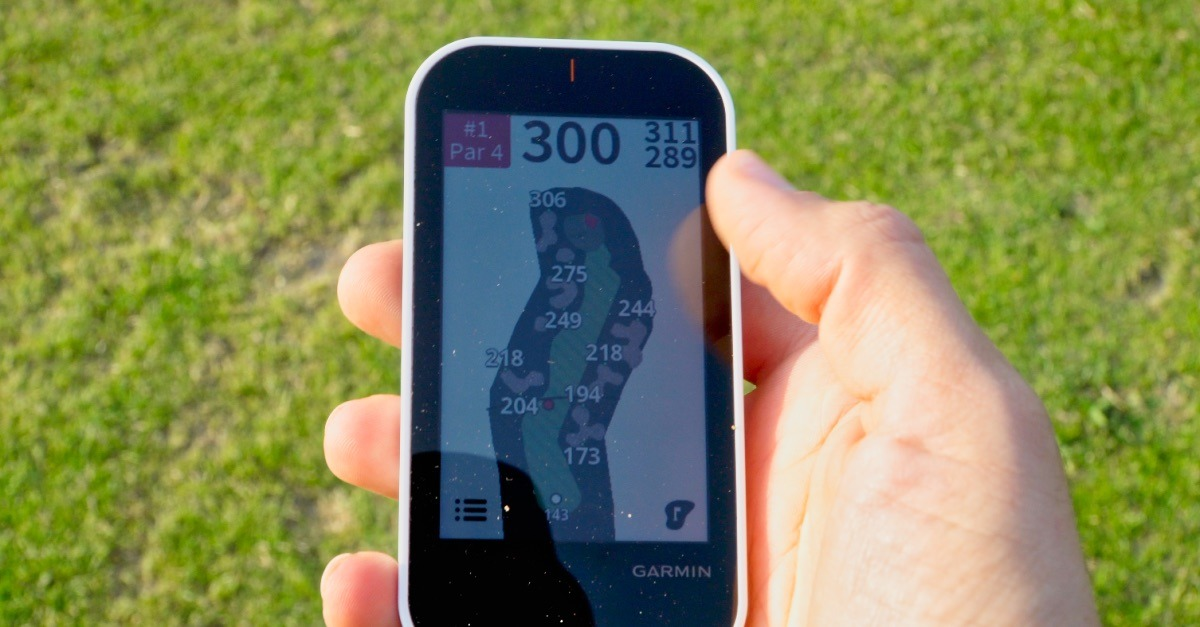 g80 karte - Garmin Approach G80 – Golf-GPS und Launch-Monitor im Test