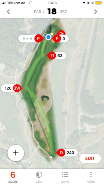 gamegolf 1 394x700 - Die besten Golf-Apps zur Rundenanalyse