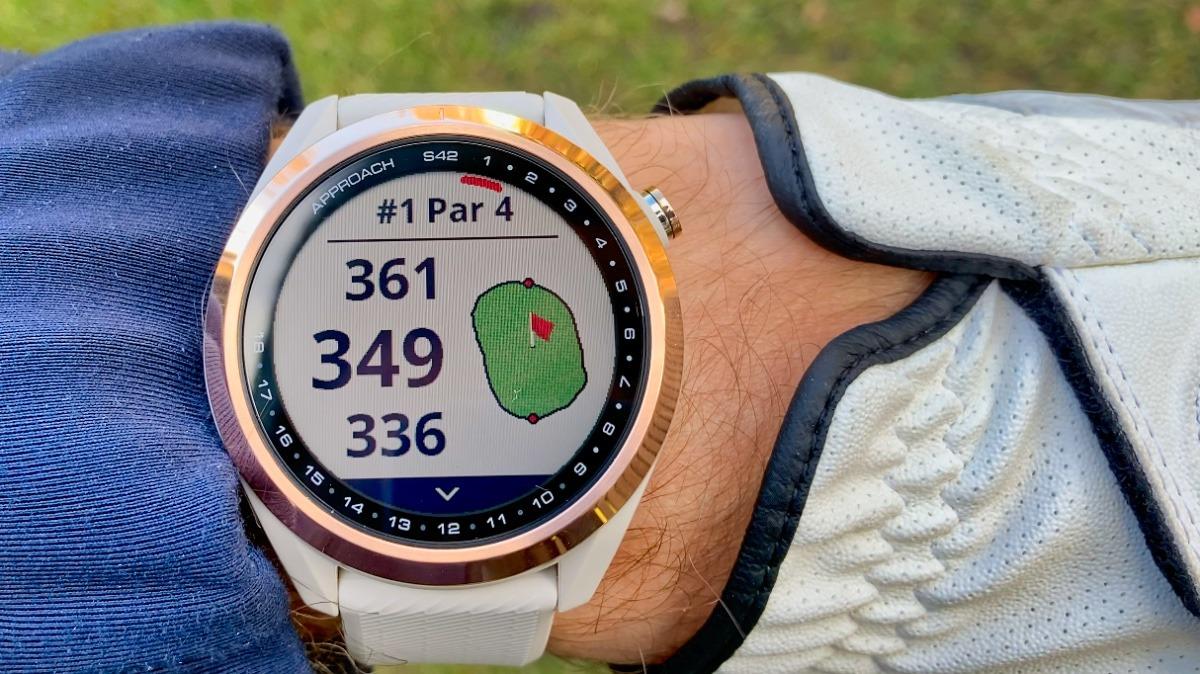 garmin s42 - Garmin Approach S42 – Golfuhr im Test