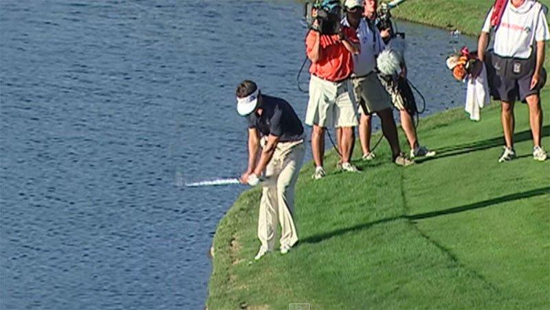 Die 10 glücklichsten Schläge der PGA-Tour
