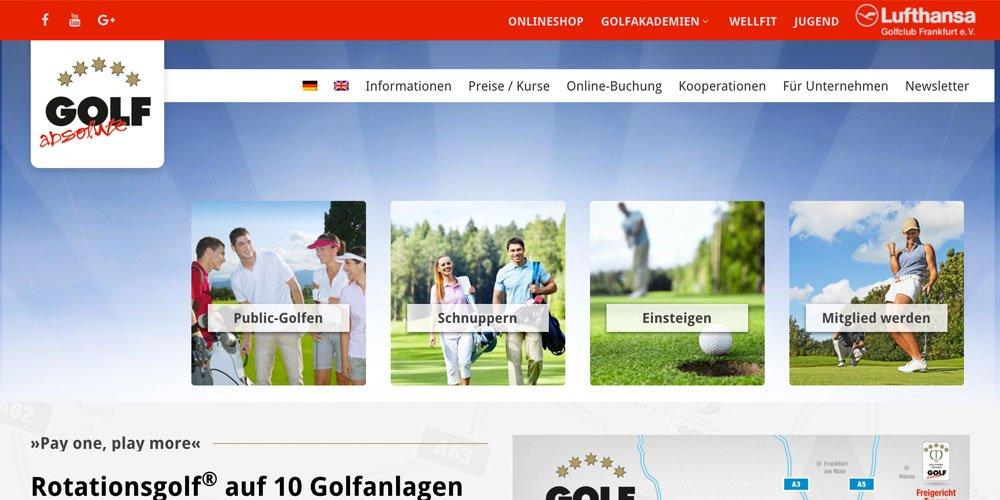 golf absolute - Die 10 größten deutschen Golf-Webseiten 2017