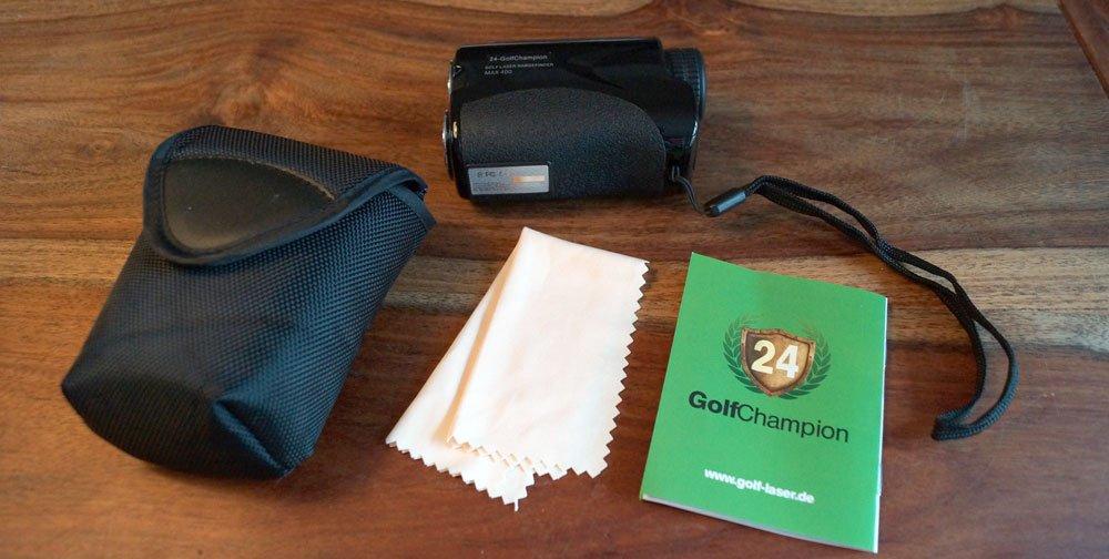 golf laser lieferumfang - 24-Golfchampion Entfernungsmessgerät im Test