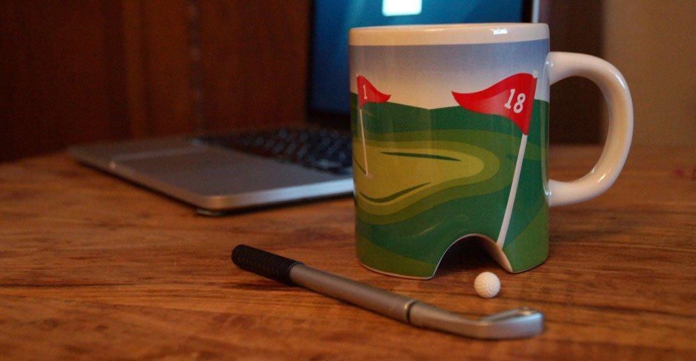 Golf-Tasse: Last Minute Geschenkidee für Golfer