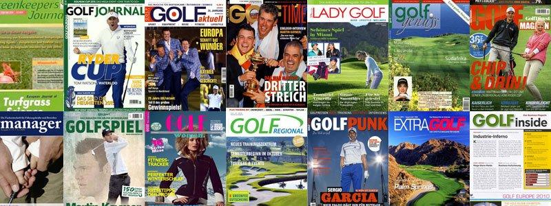 golf zeitschriften - Deutsche Golf-Zeitschriften