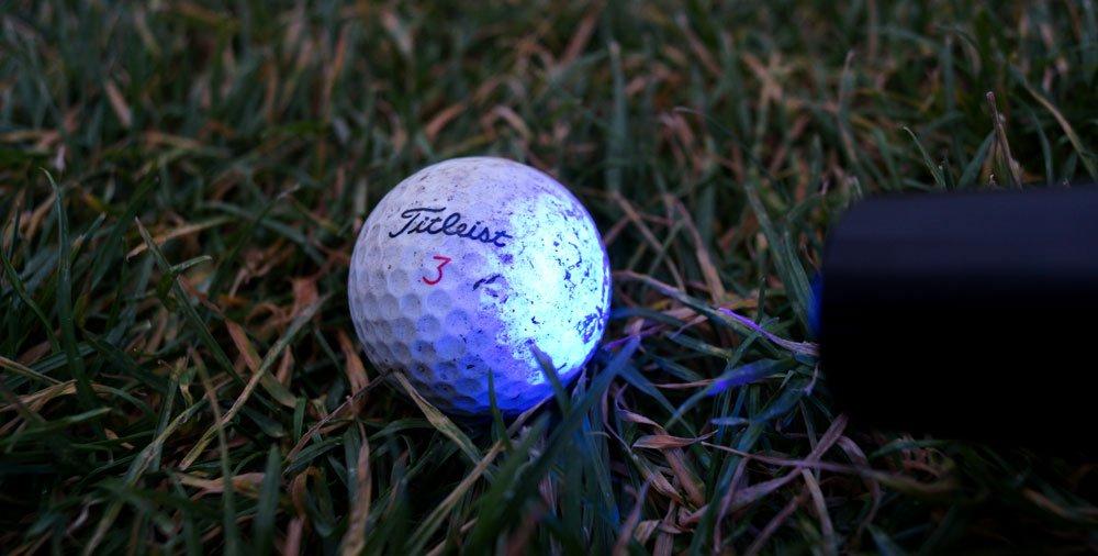 golfball uhu ball - Leuchtbälle - Golfen in der Dämmerung