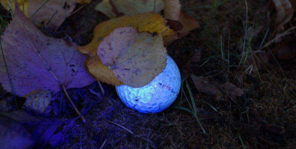 golfball uhu licht - Leuchtbälle - Golfen in der Dämmerung