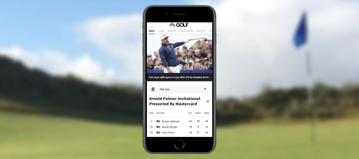 golfchannel app - Golf auf dem Smartphone – Die 12 besten Apps für Golfer