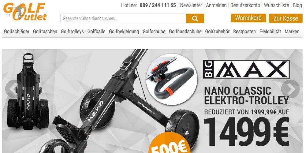 golfoutlet - Die 10 größten deutschen Golf-Webseiten 2017