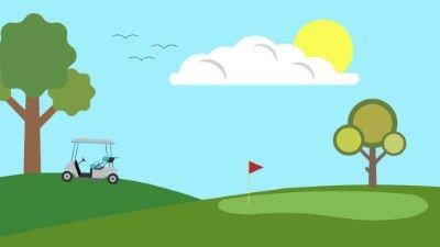 Golfclub und Golfplatz