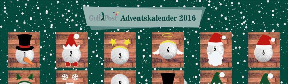 golfpost adventskalender2016 - Golf-Adventskalender 2016