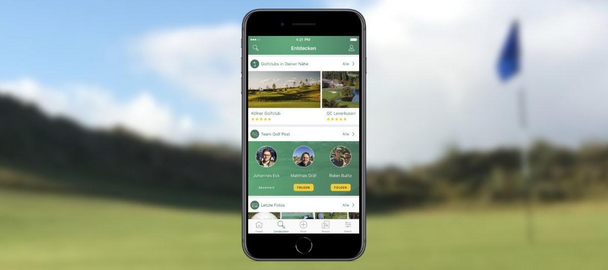 golfpost app - Golf auf dem Smartphone – Die 12 besten Apps für Golfer
