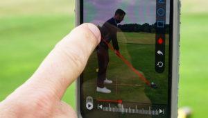 golfschwung aufnehmen 300x170 - Trainingsbericht – oder wie sich immer wieder neue Fehler in meinen Golfschwung einschleichen