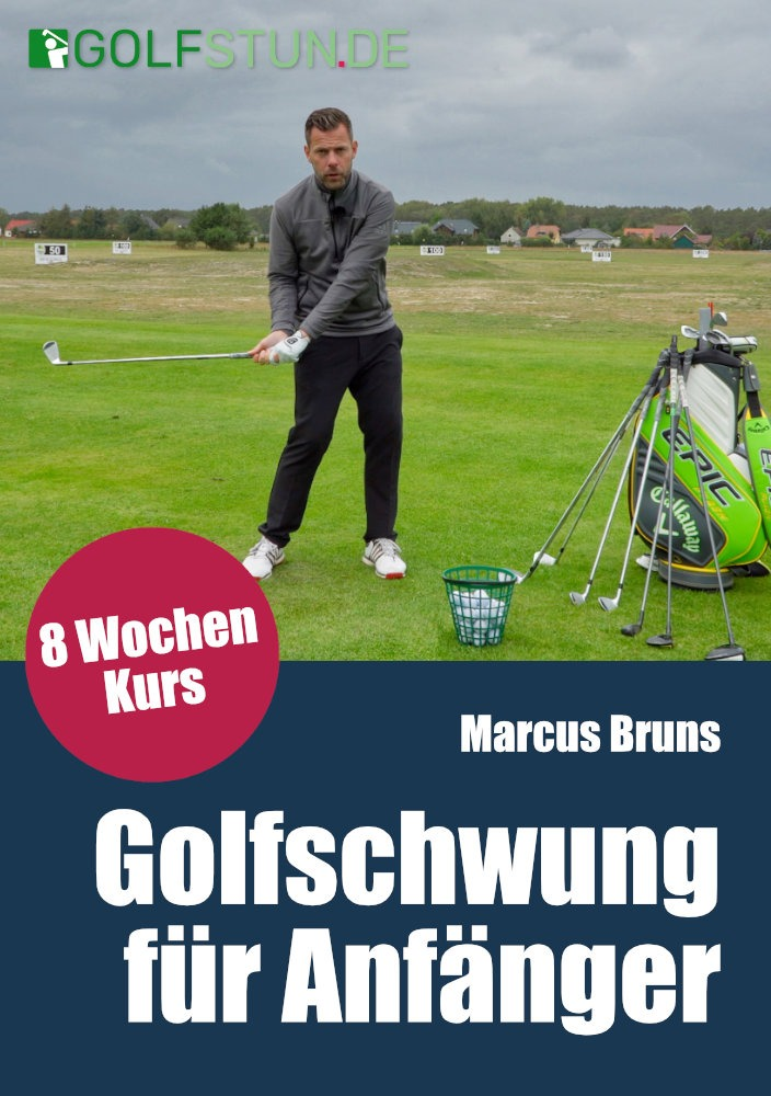 Golfkurs Golfschwung