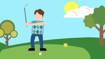 Golfschwung und Golftechnik