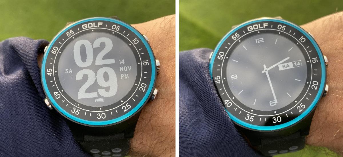 golfuhr par4 display - GPS Golfuhr Par.4 – Kleiner Preis, große Leistung