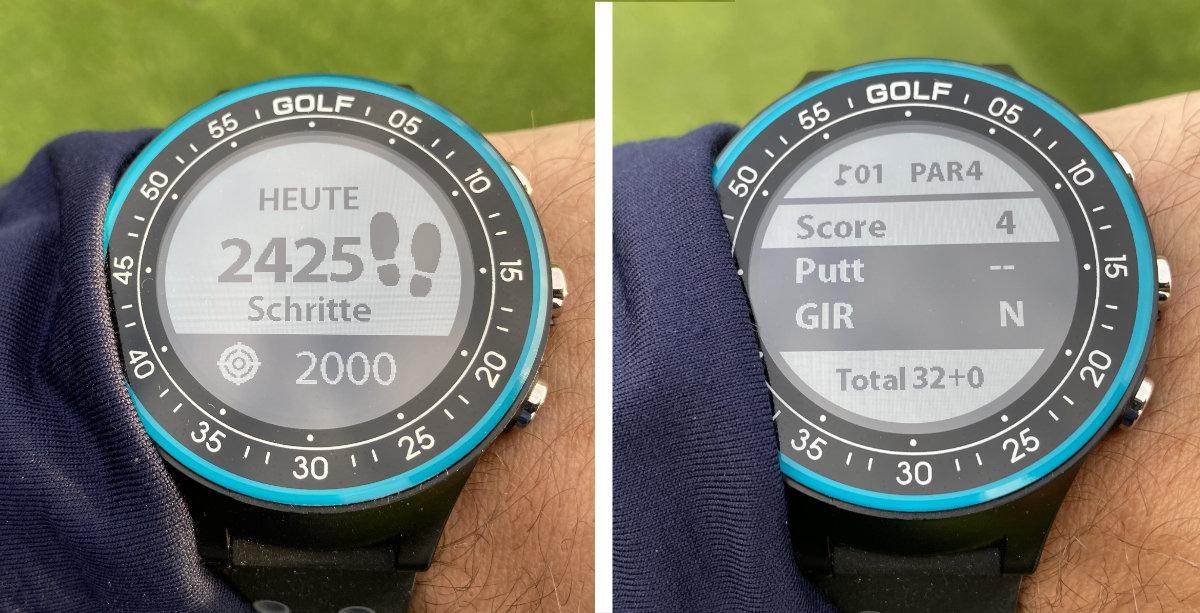 golfuhr par4 extras - GPS Golfuhr Par.4 – Kleiner Preis, große Leistung