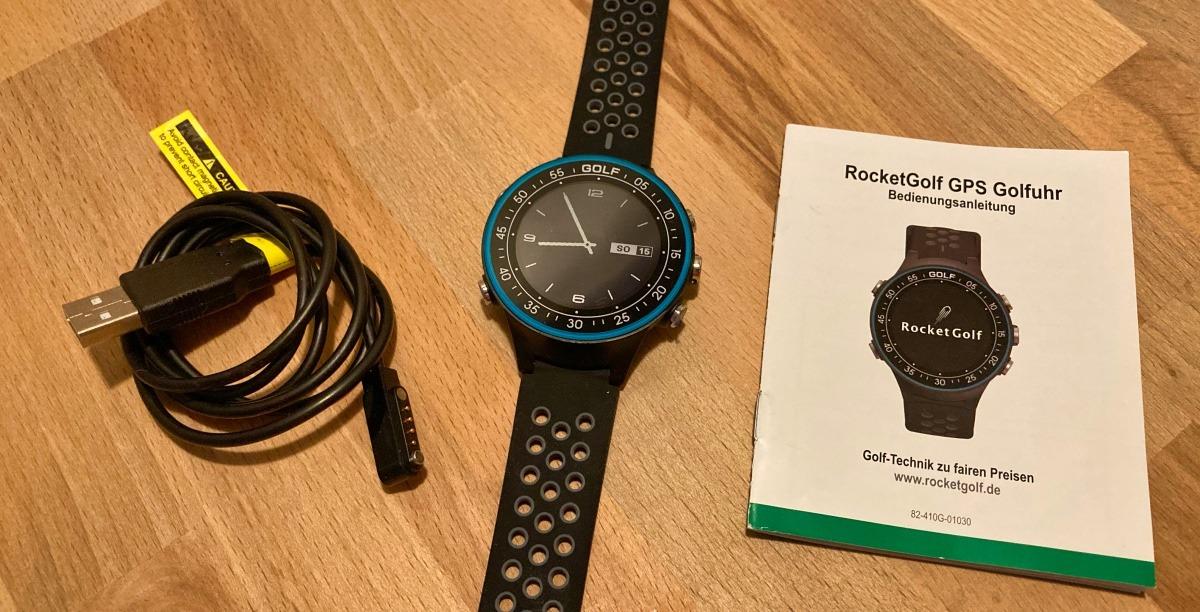 golfuhr par4 lieferumfang - GPS Golfuhr Par.4 – Kleiner Preis, große Leistung