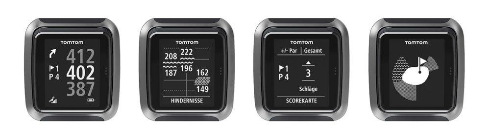 Verschiedene Funktionen der TomTom GPS-Uhr (© TomTom)