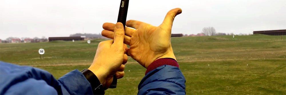 Golfschläger greifen