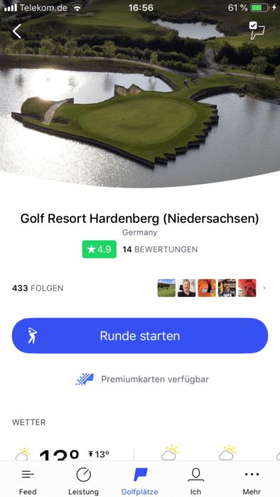 hole19 1 394x700 - Die besten Golf-Apps zur Rundenanalyse