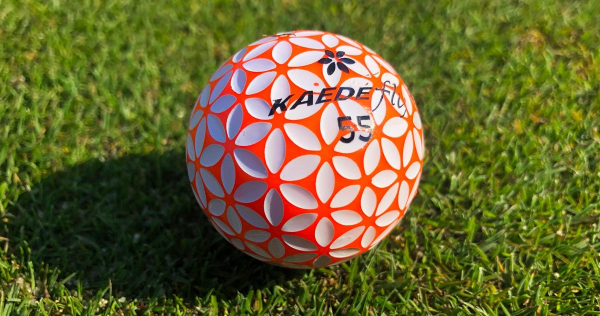 kaede fly orange - Kaede – Golfball-Innovation aus Japan