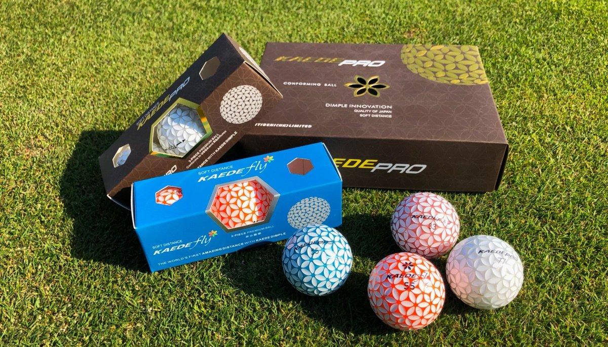kaede golfbaelle pro fly - Kaede – Golfball-Innovation aus Japan