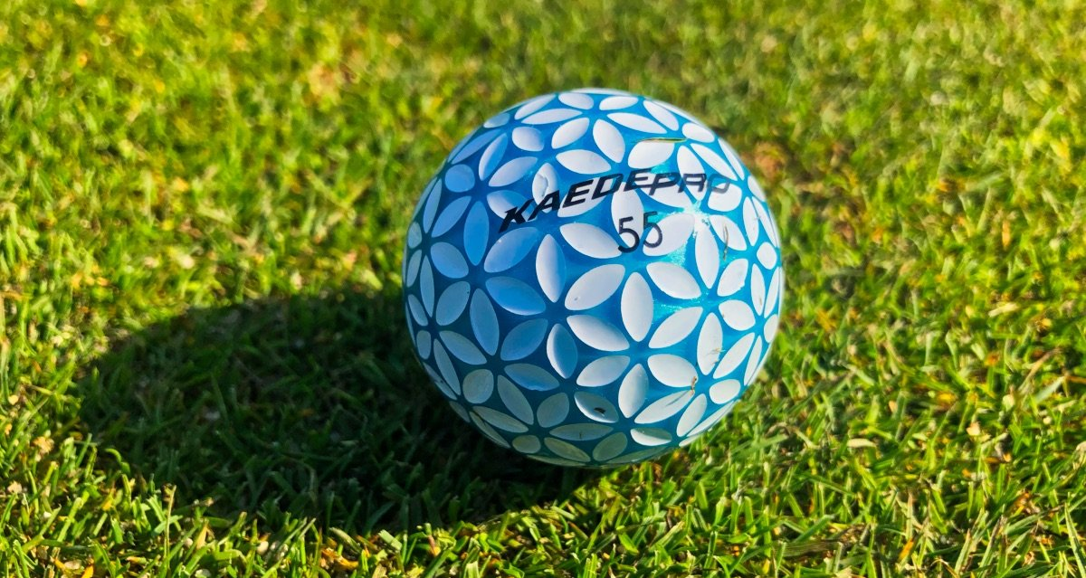kaede pro - Kaede – Golfball-Innovation aus Japan