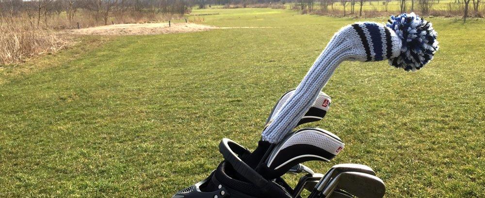 Knitcap im Golfbag