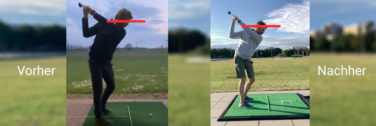 koerper aufrichten - Trainingsbericht – oder wie sich immer wieder neue Fehler in meinen Golfschwung einschleichen