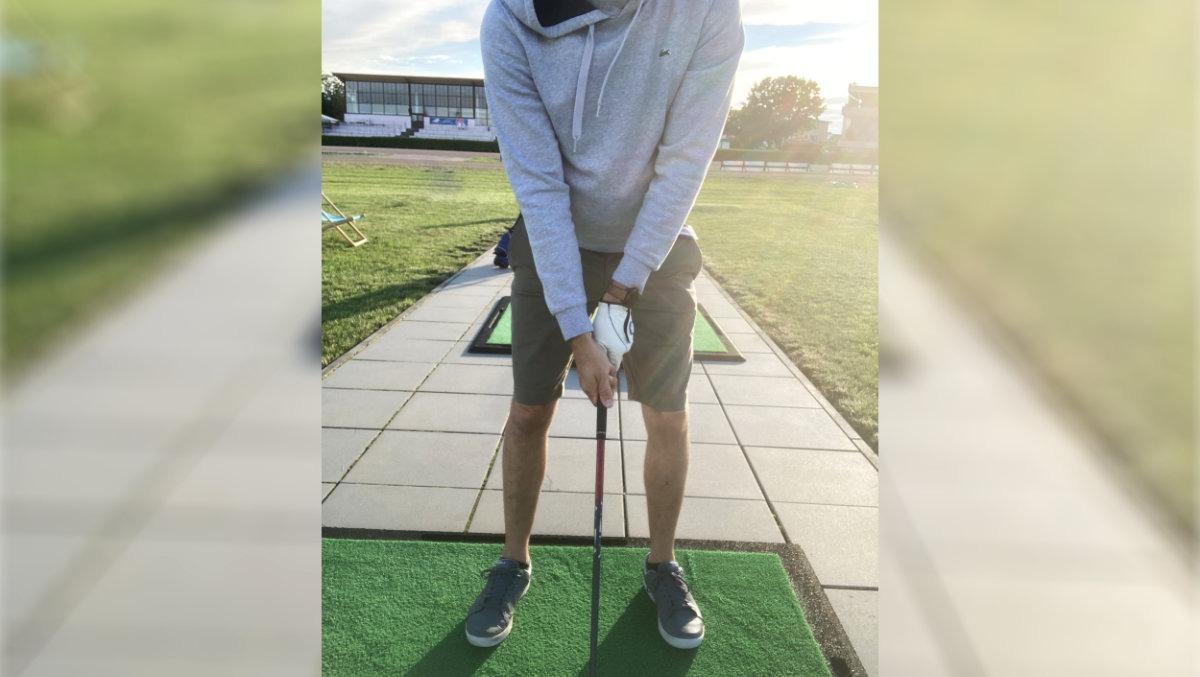 kontrollfoto griff - Trainingsbericht – oder wie sich immer wieder neue Fehler in meinen Golfschwung einschleichen