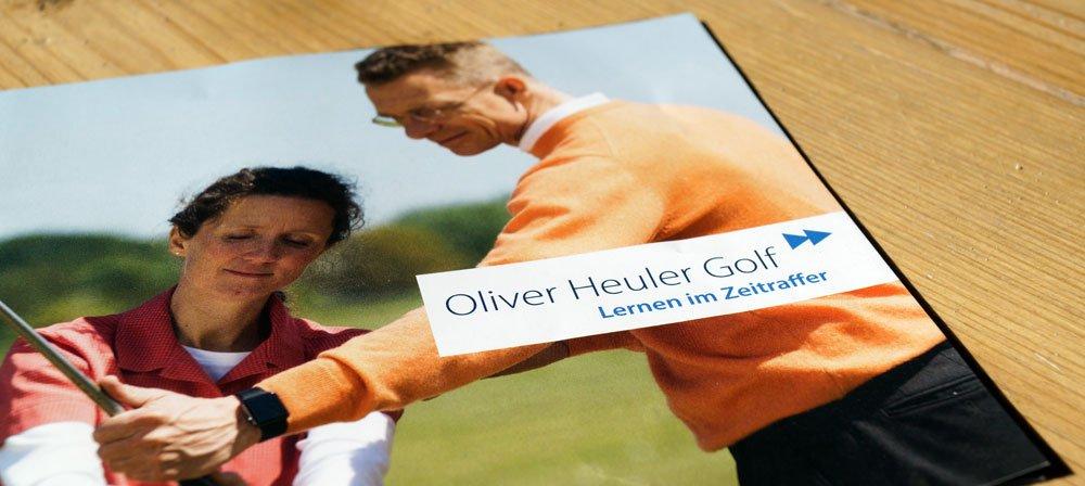 lernen im zeitraffer - Lohnt sich eine Golfstunde bei Oliver Heuler?