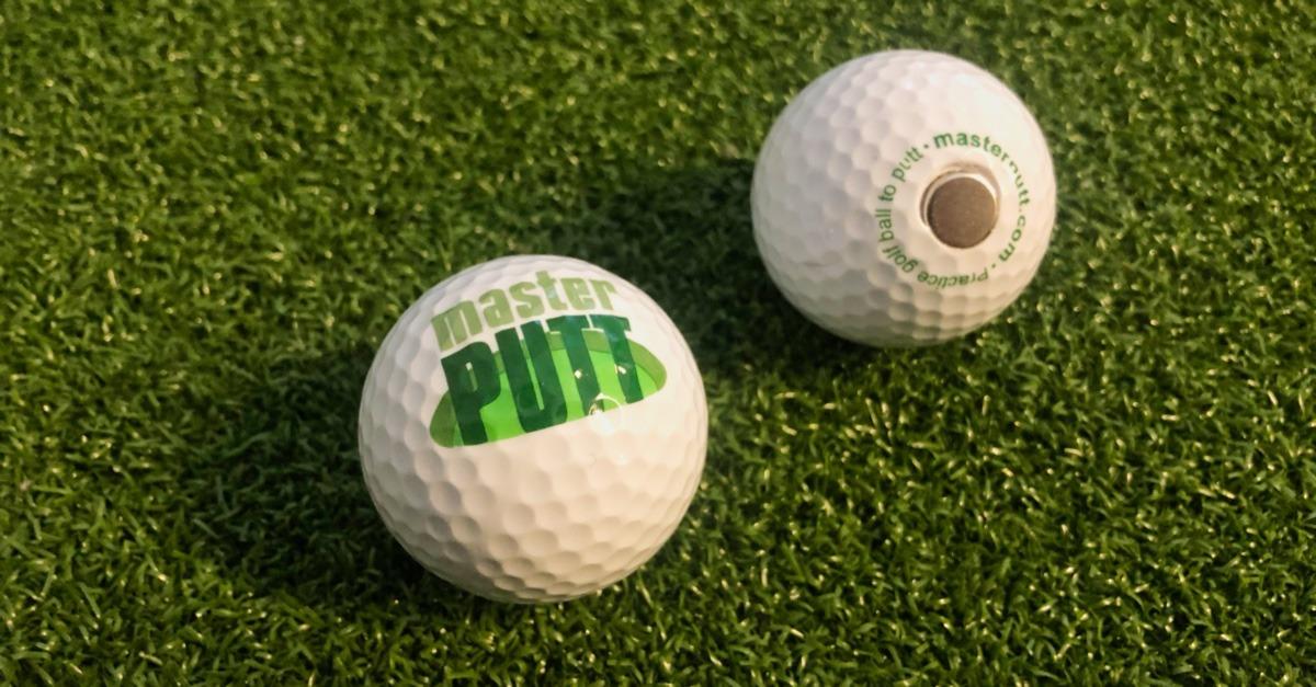 masterputt golfbaelle - Magnetische Golfbälle zur Richtungskontrolle – MasterPUTT